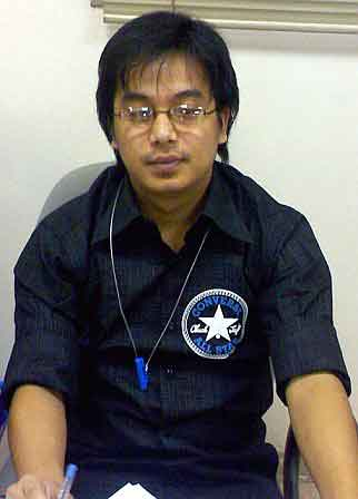 Suraj-at-office